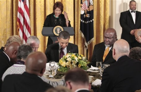 Barack Obama, T.D. Jakes, Vashti Murphy McKenzie