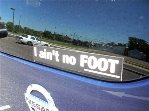 Image: bumper sticker