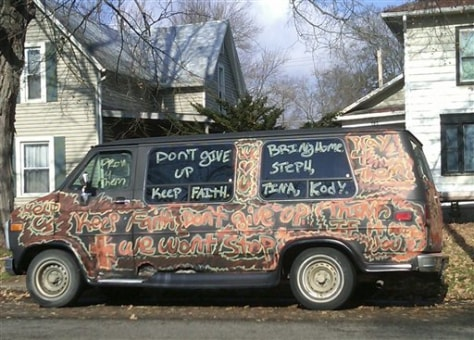 Image: A spray painted van