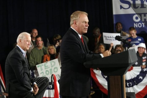 Joe Biden, Ted Strickland