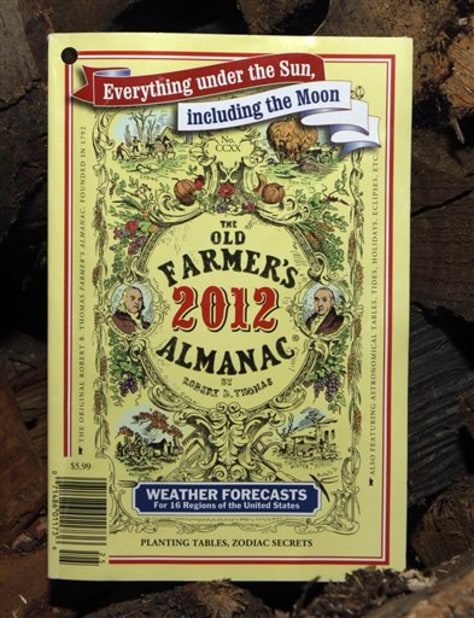 Image: The 220-year-old Old Farmer's Almanac