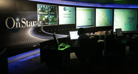 Image: OnStar command center