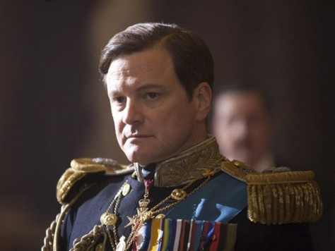 "Image: Colin Firth in ""The King's Speech"""
