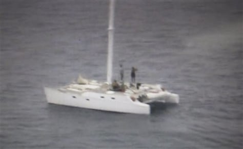 Image: Americans aboard missing boat