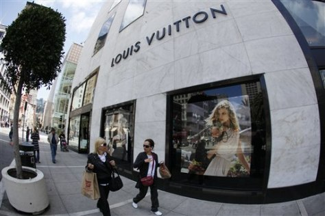 Image: Louis Vuitton store