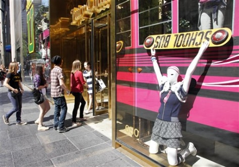 Image: Juicy Couture clothing store