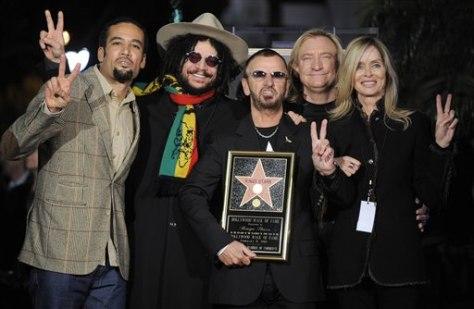 The Beatles Polska: Ringo Starr ma swoją gwiazdę w hollywoodzkiej Alei Sław