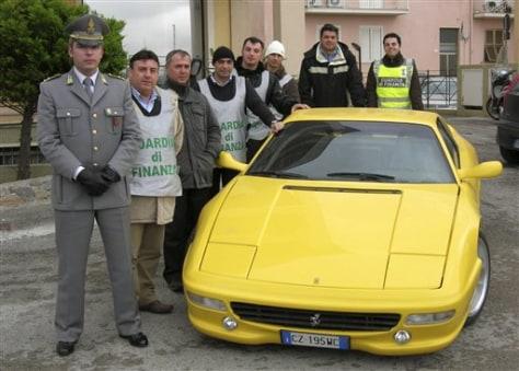 Image: Fake Ferrari