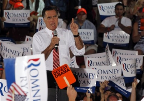 Image: Romney in Virginia