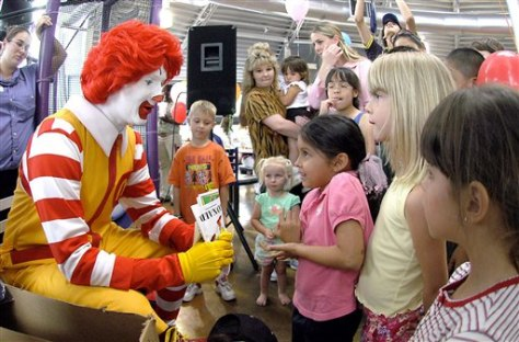 Image: Ronald and kids