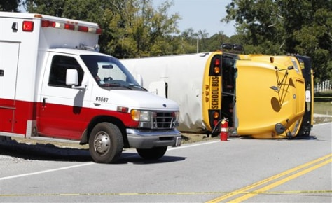 Teen killed in Ga  school bus crash - US news - Life   NBC News