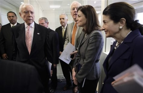 Orrin Hatch, Olympia Snowe, Kelly Ayotte, John Cornyn, John Ensign, James Inhofe, Kelly Ayotte