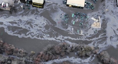 Image: Polluted floodwater