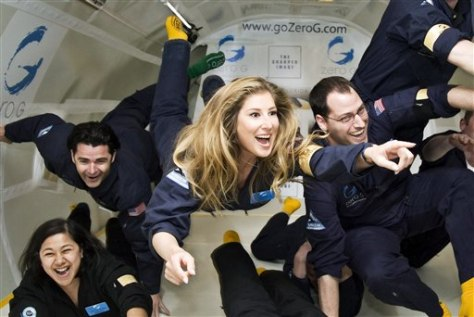 Bransons, space tourists anxious for maiden flight - Travel ...