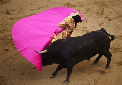 Image: Bullfighting in Spain