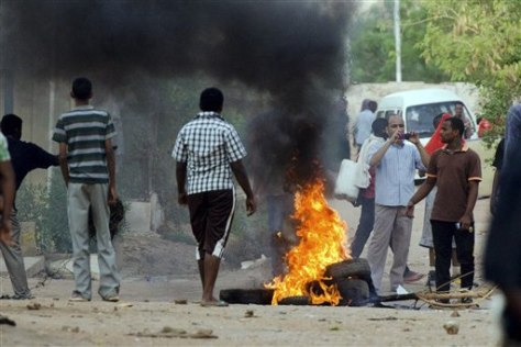 Image: Anti-government protests in Khartoum