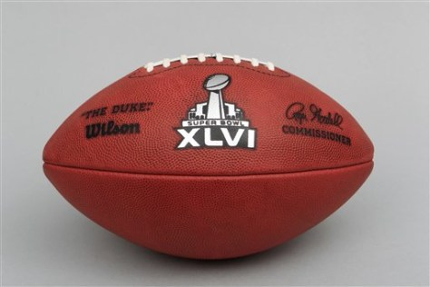 Image: Official Super Bowl football