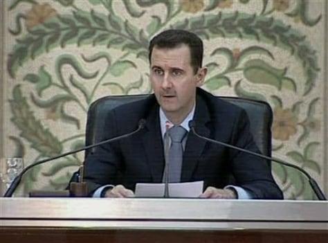 Image: President Bashar Assad