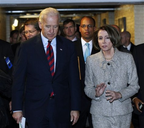 Joe Biden, Nancy Pelosi