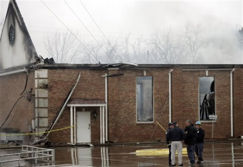 Image: Fire at Texas church