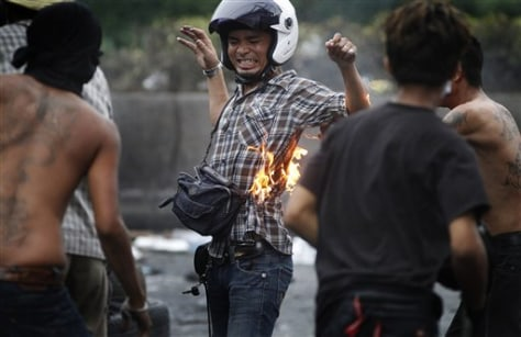 Image: Thai protester