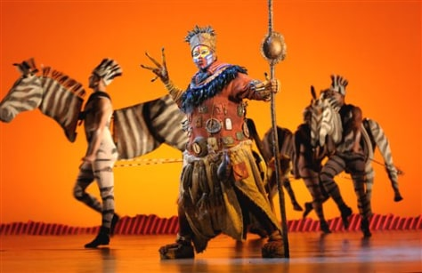 "Image: ""The Lion King"" performance"
