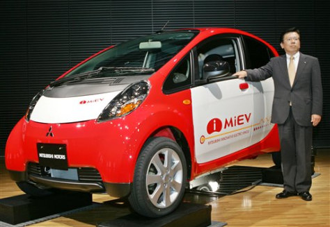 IMAGE: MITSUBISHI ELECTRIC CAR