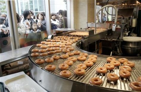 Image: Tokyo Krispy Kreme shop