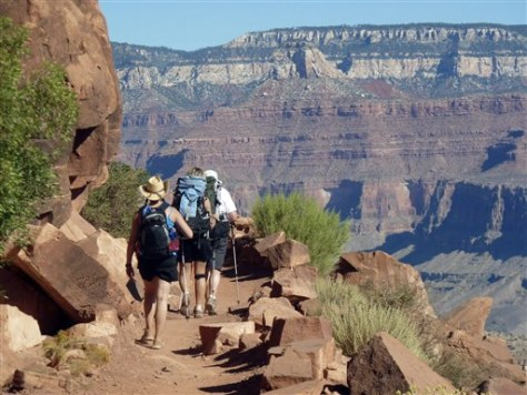 Image: Hiking the Grand Canyon