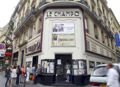 Image: The Champo theater