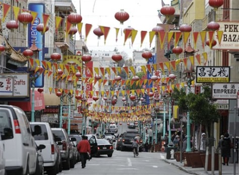 Image: Chinatown in S.F.