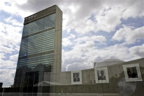 Image: The United Nations building
