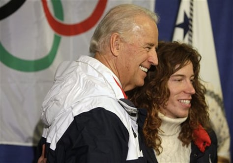 Image: Joe Biden, Shawn White