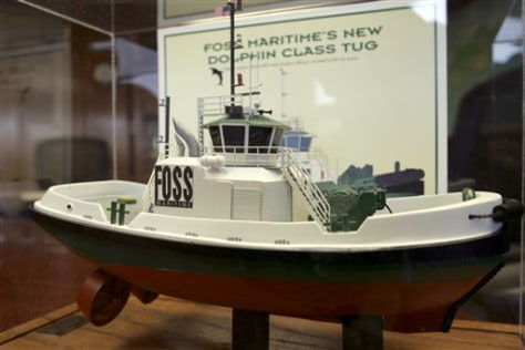 IMAGE: MODEL OF HYBRID TUGBOAT
