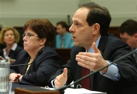 Justice's Glen Fine and FBI's Valerie Caproni