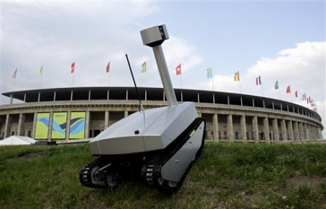 Image: Surveillance robots