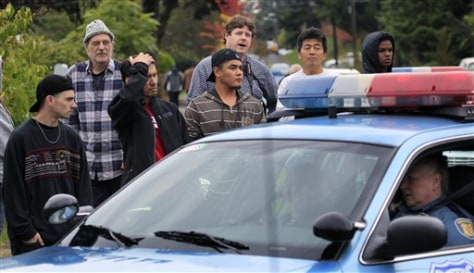 Image: Seattle shooting scene