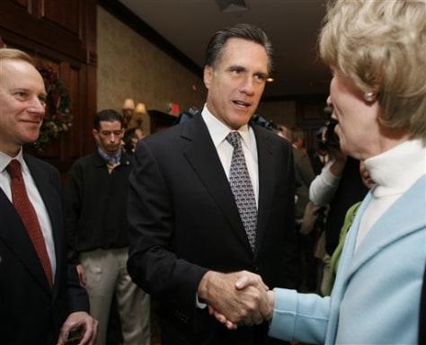 FormerGov. Mitt Romney,R-Mass.