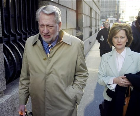 Bernard Ebbers and wife