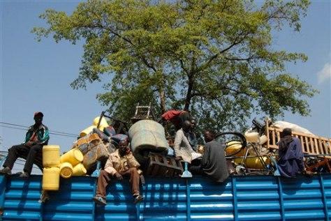 Image: Displace people in Kenya
