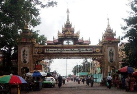 IMAGE: MYANMAR MONASTERY