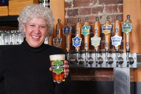 Full Sail brewery CEO Irene Firmat