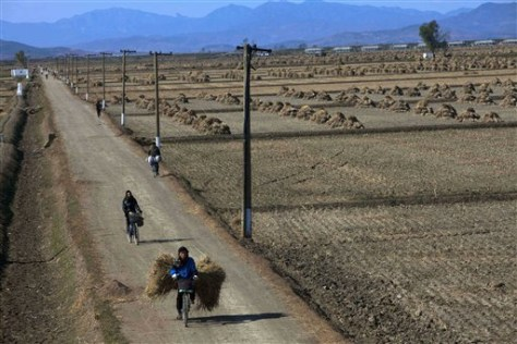 Image: North Korean farmers