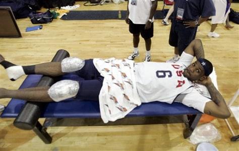 USA Basketball Practice