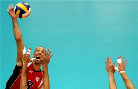 APTOPIX Brazil Volleyball World League