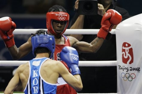 Beijing Olympics Boxing Flyweight