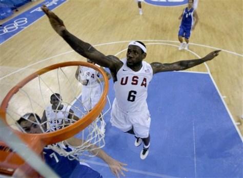 Beijing Olympics Basketball Men