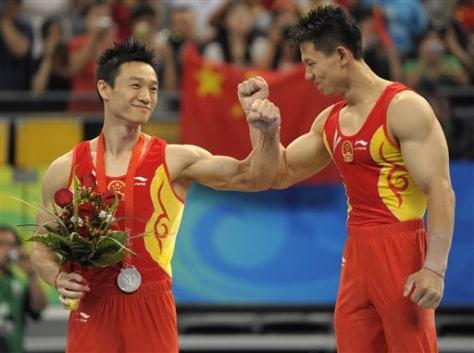 Image: Chinese celebrate
