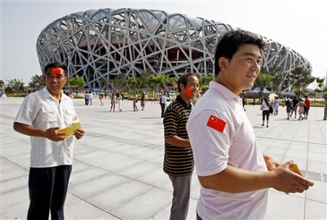 Beijing Olympics Unexpected Visitors