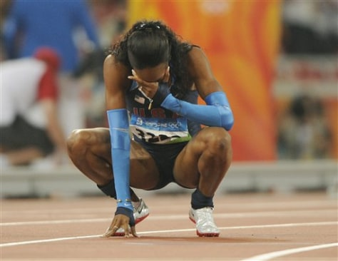 Beijing Olympics Athletics Womens 400m